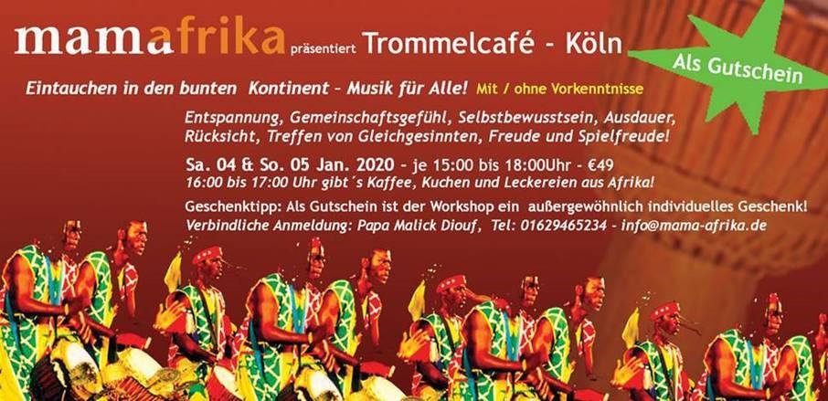 Trommel-Workshop mit MamaAfrika